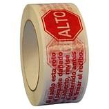 STOP If Seal is Broken Bilingual Printed Tape