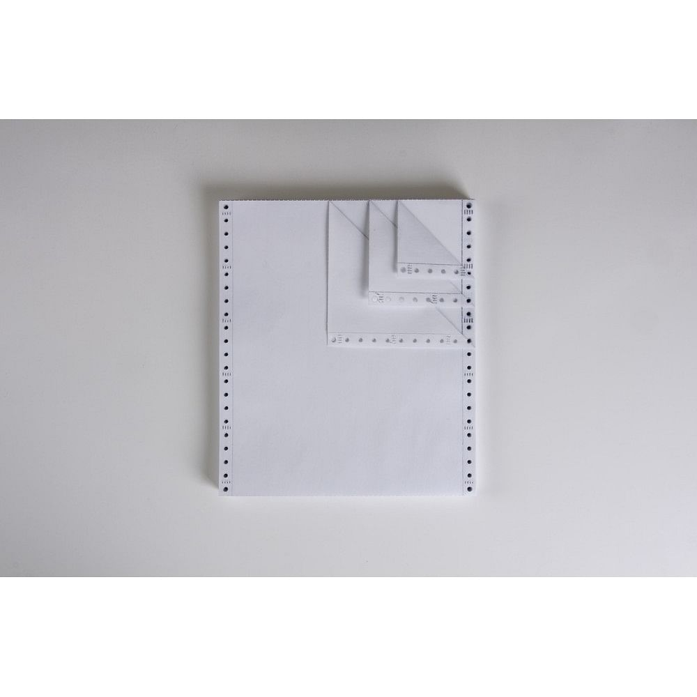 """4-Ply Carbonless Paper, Blank, Form Size 9-1/2"""" X 11"""" (W X"""