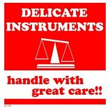 Delicate Instrument Labels – Warnings – Supplies Shops