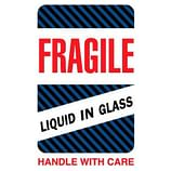 Glass & Liquid Labels – Fragile – Supplies Shops