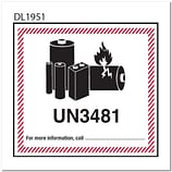 Lithium Battery Labels - Lithium Ion and Metal Shipping Labels
