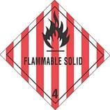 Class 4 DOT Hazard Labels