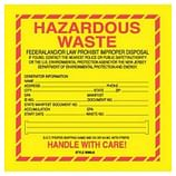 Hazardous Waste Labels – Hazardous Shipping Labels