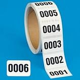 Consecutively Numbered Labels