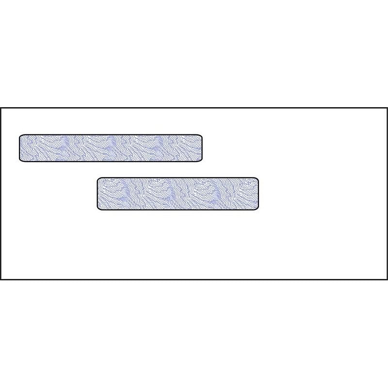 Double Window Envelopes – Check and Tax Envelopes