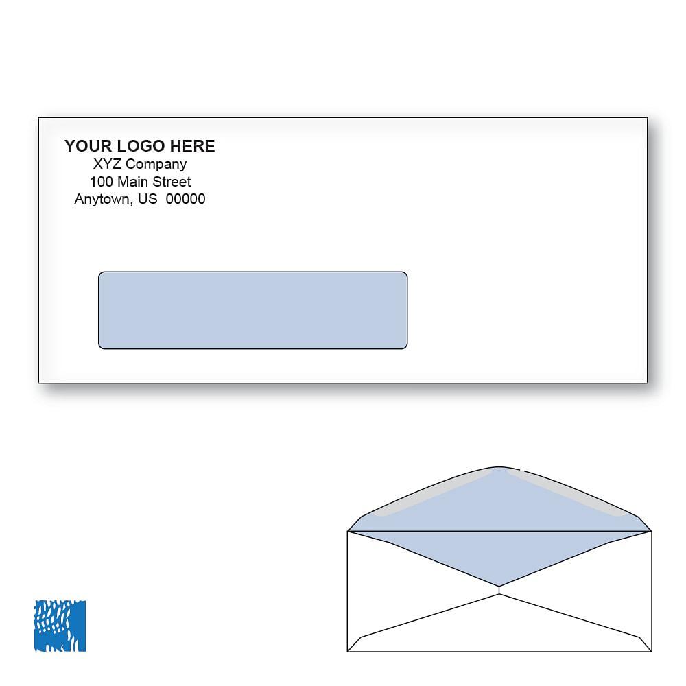 Custom Pre-Printed Envelopes – All Colors & Sizes